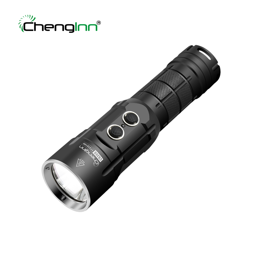 Chenglnn Powerful LED Flashlight Rechargeable USB Waterproof 6 Modes SOS Cree LED Light Torch Lantern 26650 Battery for Hunting ipx 8 waterproof tactical torch imalent dn35 usb rechargeable cree xhp70 2200 lumens led flashlight self defense 26650 battery