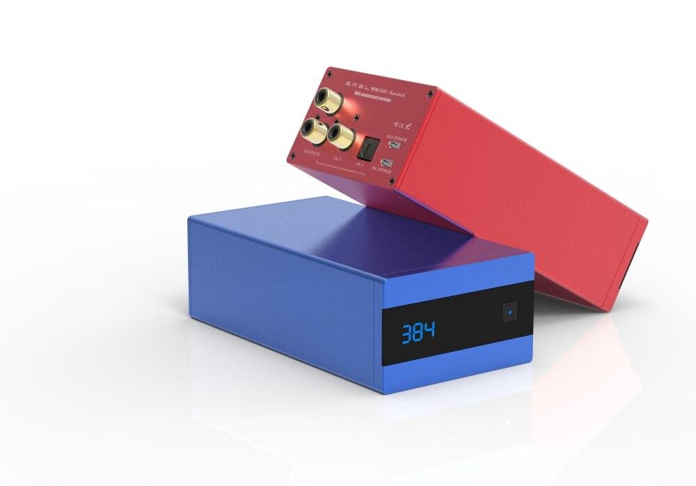 SMSL Sanskrit 10th SK10 MINI Audio DAC AK4490EQ PCM 32Bit/384 khz DSD256 soutien OTG avec télécommande Optique coaxial