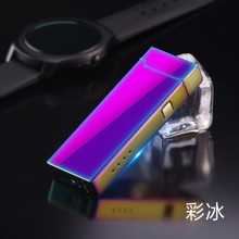 Windproof lighters Creative USB charge, Men gadget