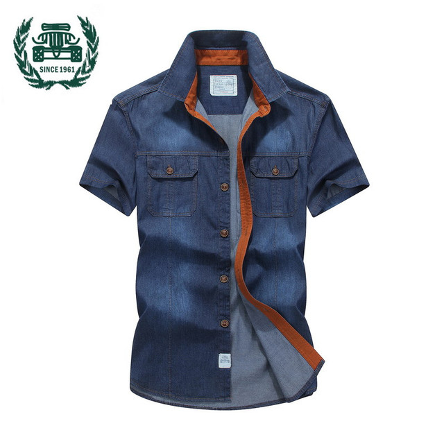Summer Men Shirt 100 Cotton Slim Fit Brand Men Shirt Camiseta