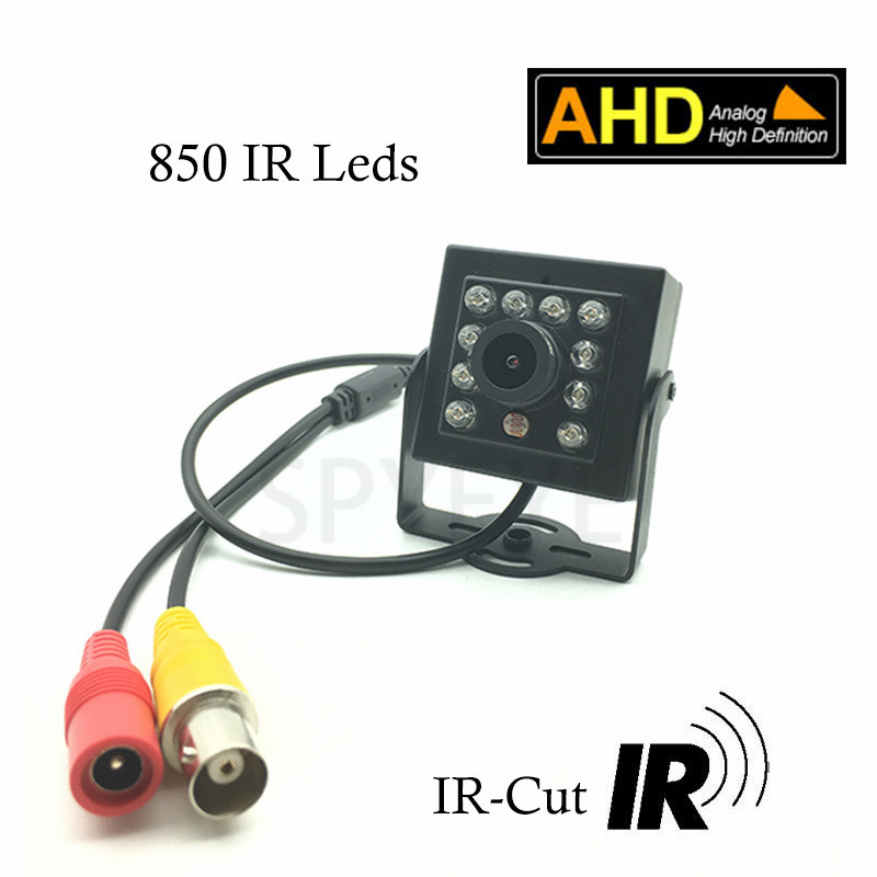 1080P Mini IR AHD Camera 2000TVL 10pcs IR 850nm 2MP Analog High Definition AHD Camera Mini IR Day/Night AHD camera For Home&Shop yowoo fpv 450 500 akku lipo battery 2s 3s 7 4v 11 1v 5000mah 50c max 100c for traxxas helicopter fpv 450 airplane quadcopter car