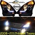 Teana headlight,2008~2012,(LHD,If RHD need add 200USD),Free ship! Teana fog light,2ps/se+2pcs Aozoom Ballast,altima,titan,Teana