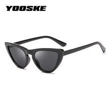d200a1639c9e5 YOOSKE 2018 90 s Cateye Olho de Gato Óculos De Sol Das Mulheres Espelho Moda  Óculos de Sol para óculos de Sol Das Senhoras Rosa .