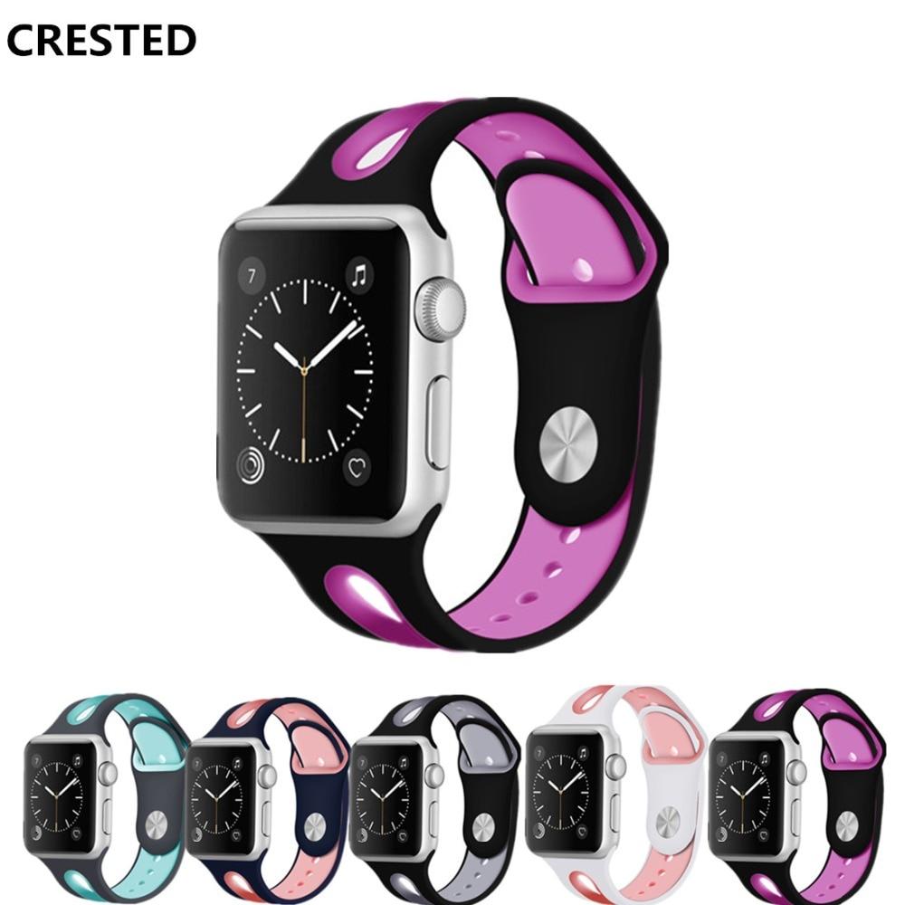 Sport Strap For Apple Watch Band Apple Watch 4 3 Band 44 Mm 42mm Iwatch 40mm/38mm Correa Wrist Bracelet Watchband Belt