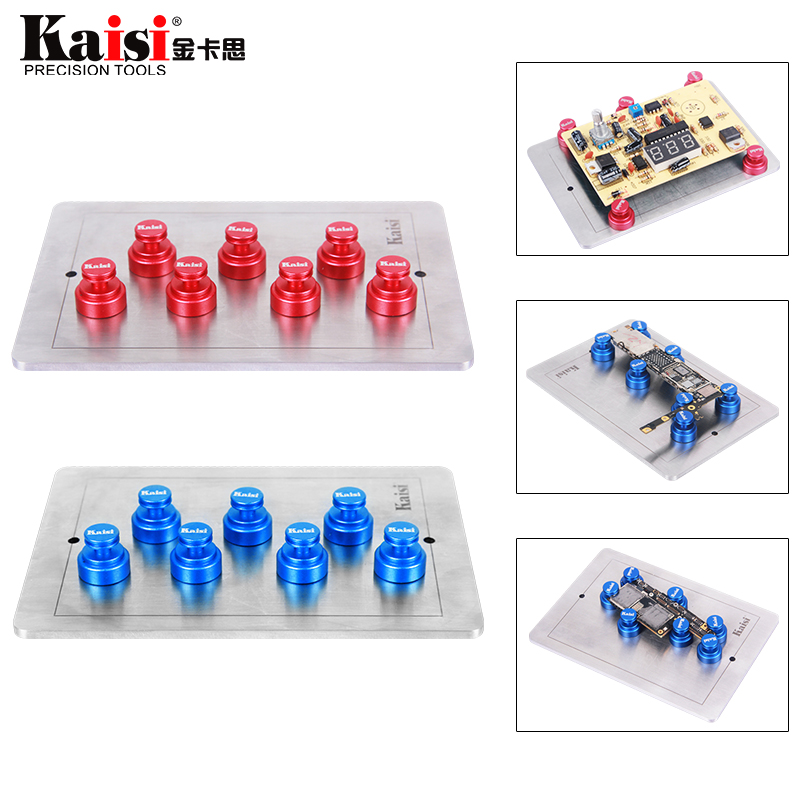 Kaisi Universal DIY Stainless Steel Mobile Phone PCB Circuit Board Holder Fixture Repair Tool for Mobile