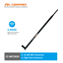 Comfast WIFI Antennas CF-ANT2410I 2.4GHz 10dBi RP-SMA Copper Wireless Omni direction Router Card high gain Indoor wi fi Antenna