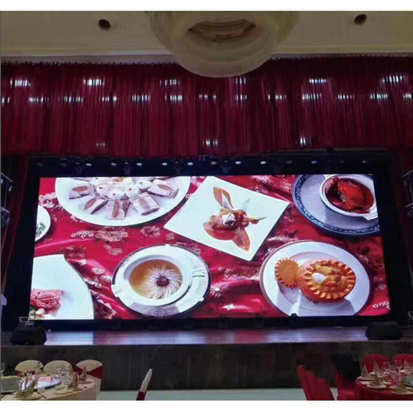 Wedding Banquet Full Color LED Dispaly P3 SMD2121 576*576mm Die Casting Aluminum Cabinet Rental Indoor led Video Wall Big Screen