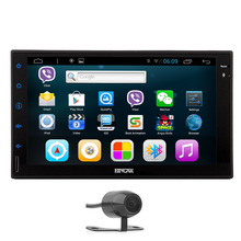 Android 5.1 USB Radio Sub System No-DVD Tablet WiFi Car Stereo CAM 4-Core GPS PC Touch Screen AMP Map Logo Audio
