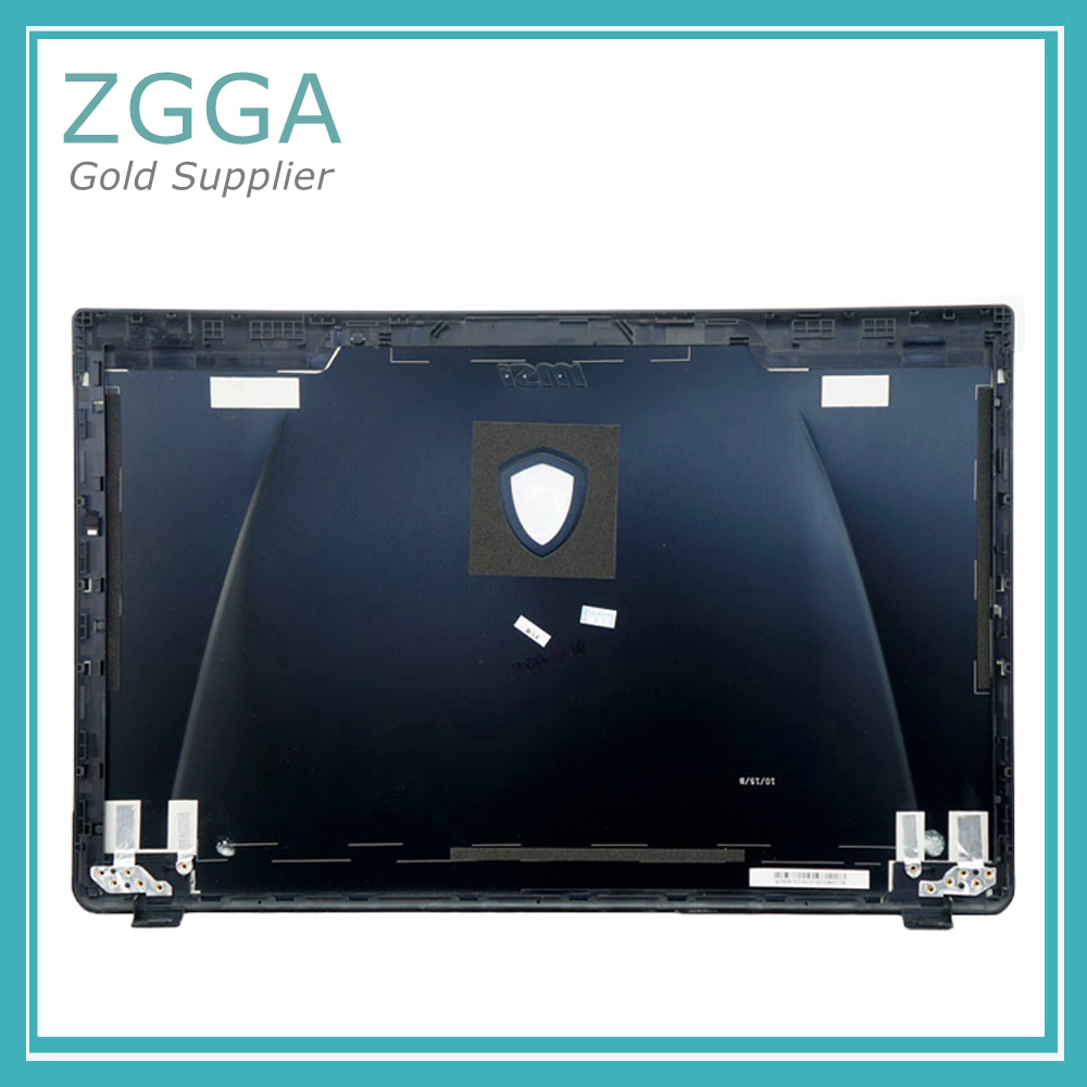 Laptop LCD Back Cover for MSI GE60 GP60 307-6GHA222-P89 3076GHA222P89 Rear Lid Top Case 307-6GFA214-Y31 3076GFA214Y31 Black new for msi gt72 1781 1782 lcd back cover 307 781a415 y311 307 781a417 y311 black