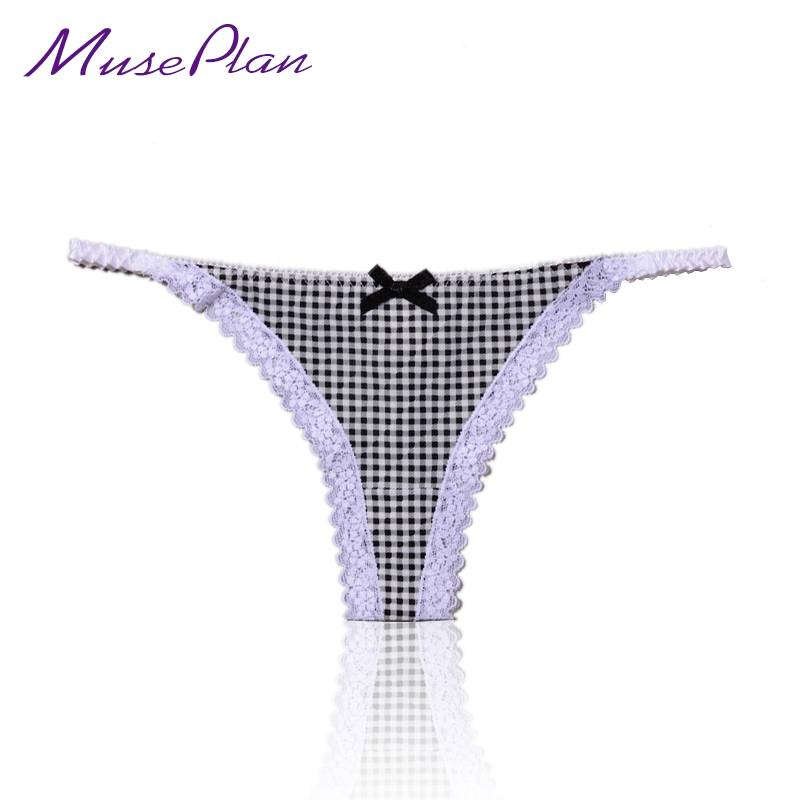 Sexy produkty G-String Briefs Elastické krajky Dámské spodní prádlo Rozkrokové kalhotky Sexy spodní prádlo Hot