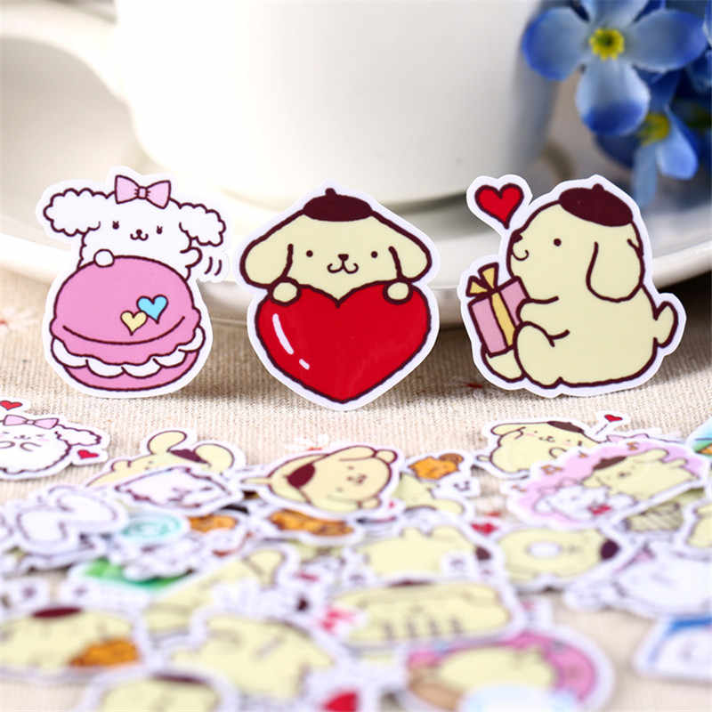 35 PCS mini Cartoon rice patch  Paper Stickers Crafts And Scrapbooking stickers kids toys book Decorative sticker DIY Stationery