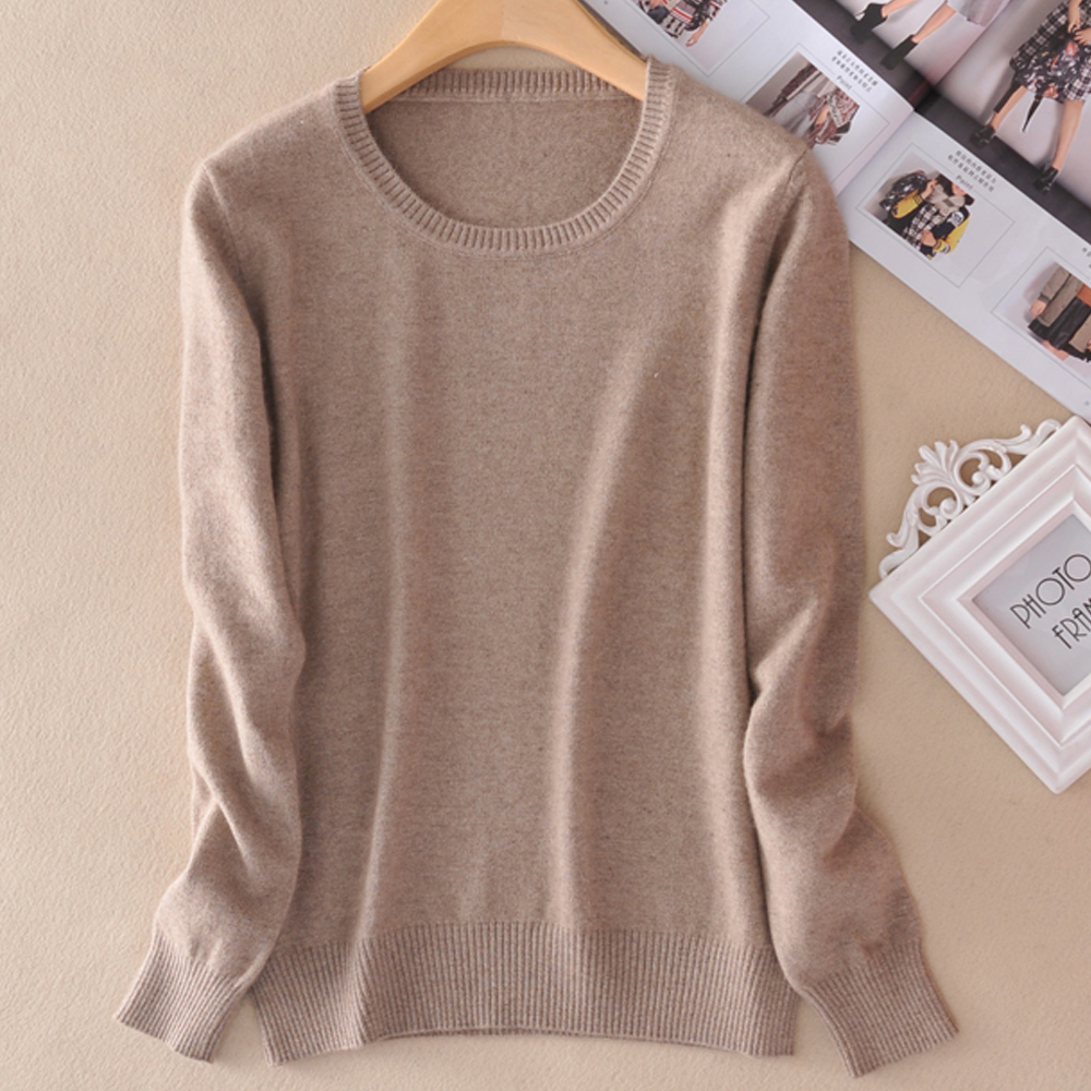 US $14.16 51% OFF|Hot Sale Women Sweater Cashmere Pullover 2017 Spring New Brand Jumpers O neck Sweaters 14colors Lady Clothes for Girls