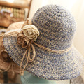 [DRESSUUP] женская Пляж Шапки Летние Шапки Для Женщин Strawhat Большой Шляпы Sunbonnet Женский Девушки Открытый Шапки feminino