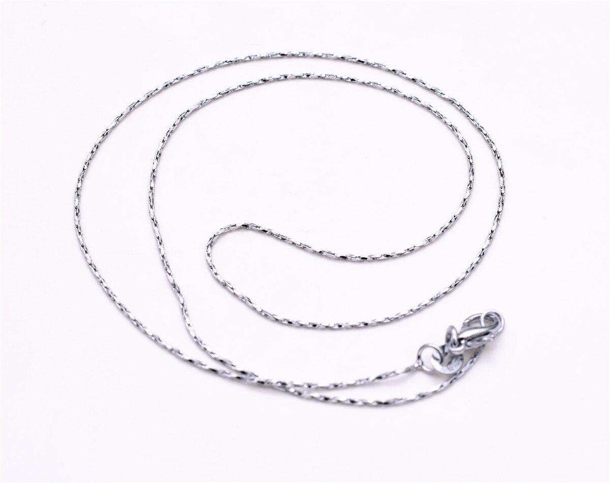 5pcs Lot 45cm Long Lobster Buckle Women Necklace Chain