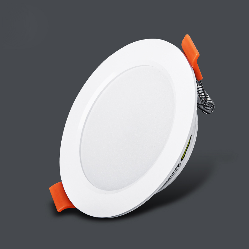 7w 9w 12w Led Downlight Fixture White Body Round Recessed Lamp 220v Led Bulb Bedroom Kitchen Indoor Led Spot Lighting Lights & Lighting