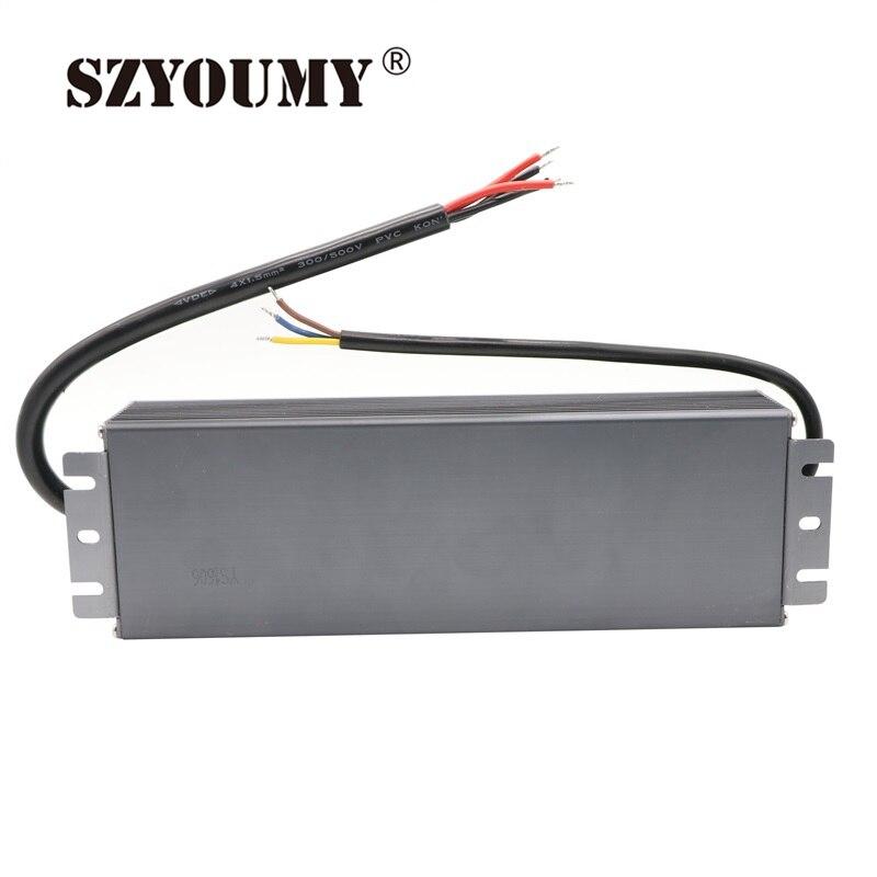 SZYOUMY 25A courant AC 190 V 250 V à DC 12 V transformateur étanche puissance 12 V 300 W LED alimentation du conducteur pour bande de LED/modules - 4