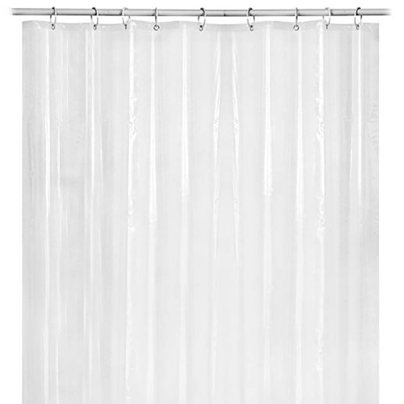 1PC PEVA Shower Curtain Waterproof Mildew Transparent Liner With Bottom Magnet Bathroom Tools