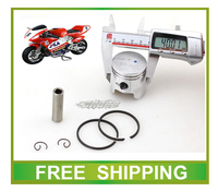Pocket Bike 40mm Piston Ring 47cc 49cc Mini Moto Atv Quad Accessories Free Shipping