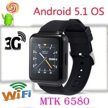 """ในสต็อก! Q1โทรศัพท์นาฬิกาสมาร์ทหุ่นยนต์5.1 OS 512เมกะไบต์+ 4กิกะไบต์1.54 """"แสดงการสนับสนุนWiFi GPS 3กรัมบลูทูธนาโนซิมS Mart W Atch"""