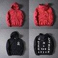 Outono Inverno Hoodies Yeezy Yeezy Kanye West Das Mulheres Dos Homens de Hip Hop alta Qualidade 1:1 3 ª Temporada Eu Sinto Como Pablo GD Yeezy camisolas