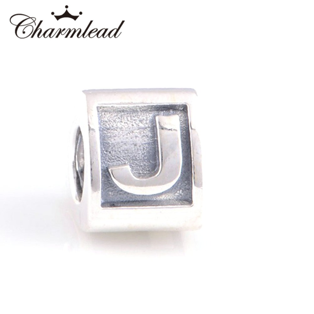 pandora charms letter j