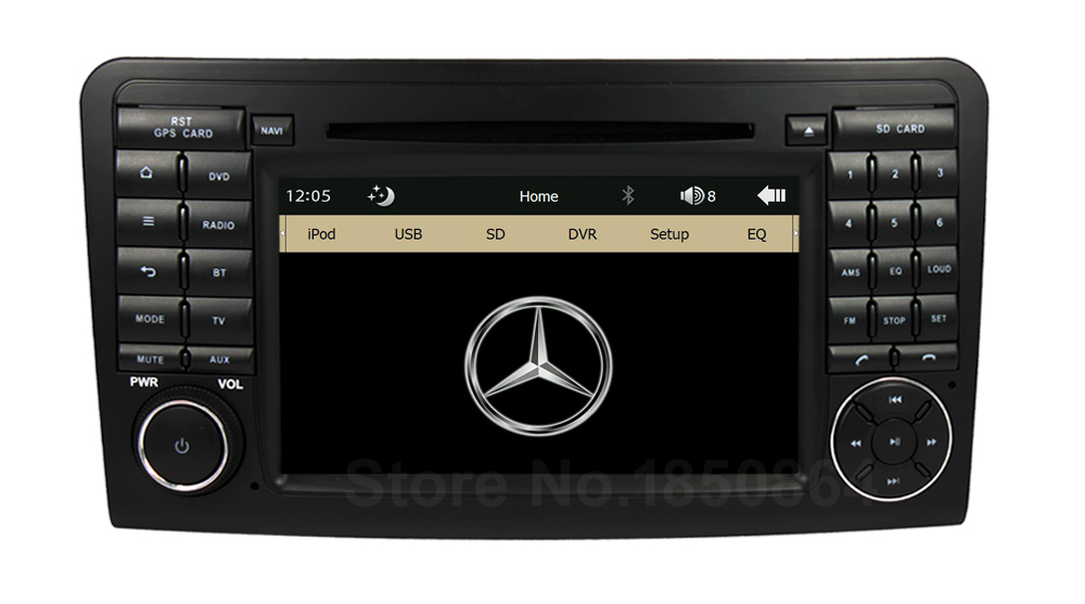 Original UI font b Car b font DVD Radio Player GPS for Mercedes Benz ML Class