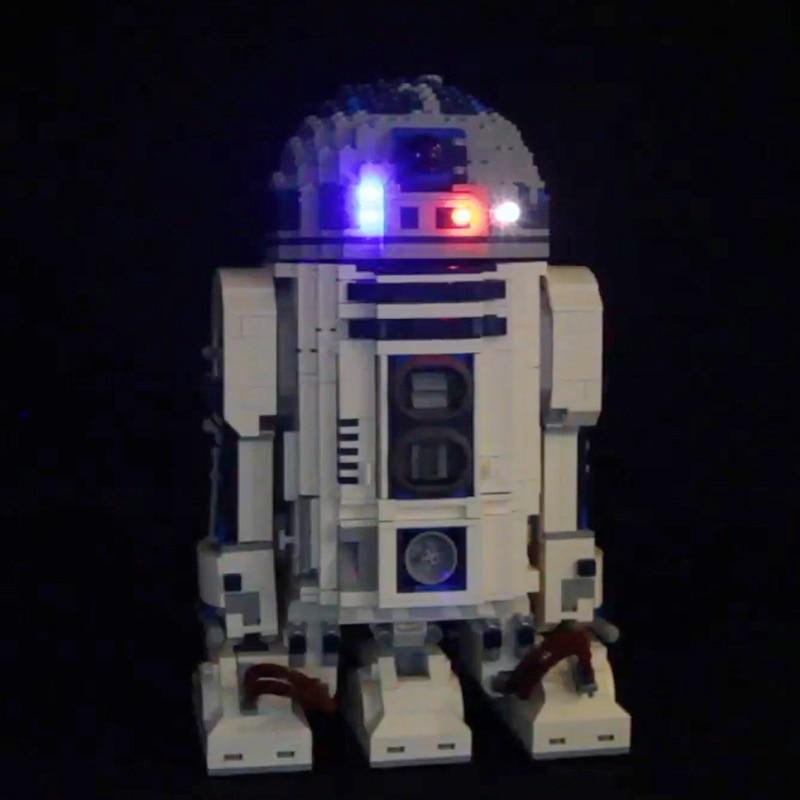 Led Light Kit Only For Lego 10225 Star Wars R2D2 Lighting Bricks Lepin 05043