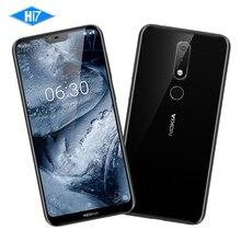 Новый Nokia X6 32 г Встроенная память 4 г Оперативная память 5,8 дюймов Octa Core 3060 мАч 16.0MP 3 Камера Dual Sim android LTE отпечатков пальцев Смартфон мобильный телефон