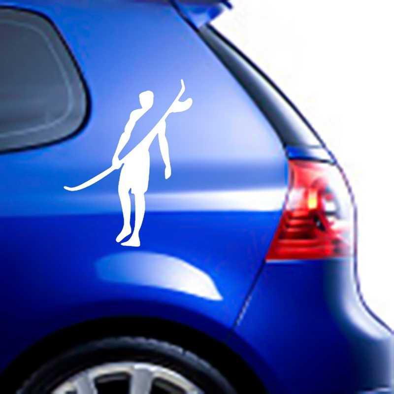 1 piezas creativo Surf deportes vinilo coche pegatinas accesorios Adventurer Surf coche pegatina Decoración
