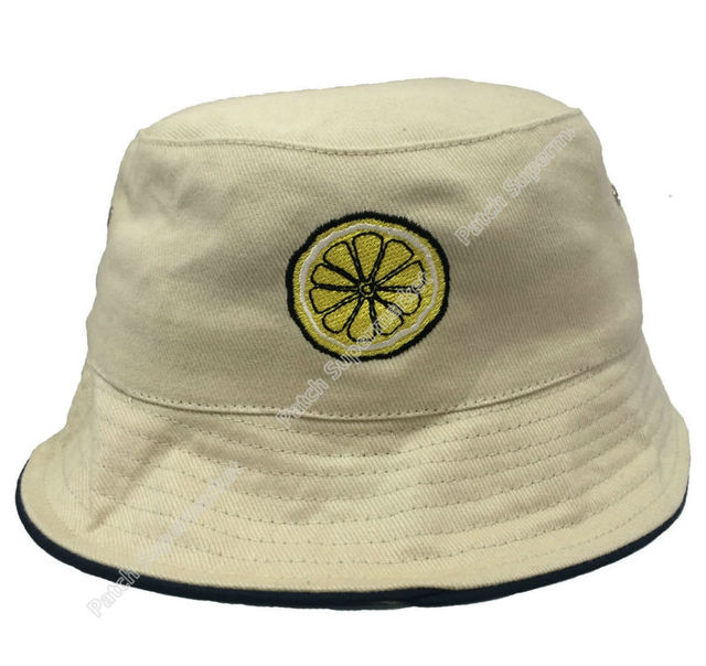 The Stone Roses RENI Bucket Hat Beige Stone Embroidered Iron On Lemon  Patches Logo Adult Unisex Casual English rock band Music ea5ffd64ed8