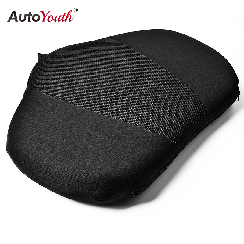 autoyouth 1pcs car lumbar support pillow massage lumbar cushion car seat pillow lumbar support. Black Bedroom Furniture Sets. Home Design Ideas