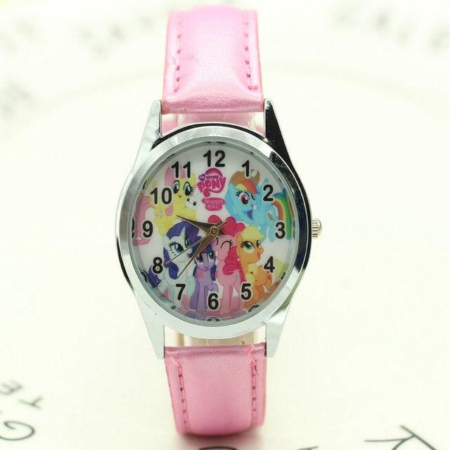 4fd24cd92dc Frete Grátis MEU PEQUENO P Moda Infantil Menina Xmas Relógio de Pulso Xmas