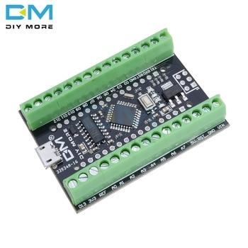 Atmega328P Nano V3.0 3.0 CH340G CH340 sterownik Terminal Adapter karta rozszerzenia sterownik mikro moduł dla Arduino Micro USB