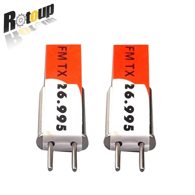 Rotoup A pair transmit + receive Frequency Crystal for remote controller with RC toys,car,boat,aircraft,model crystals RC TANK