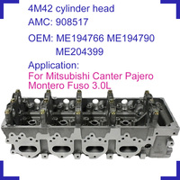 engine parts For Mitsubishi Canter Pajero Fuso 3.0 4M42T 4M42 T naked engine cylinder head 908 517 ME194766 ME194790 ME204399