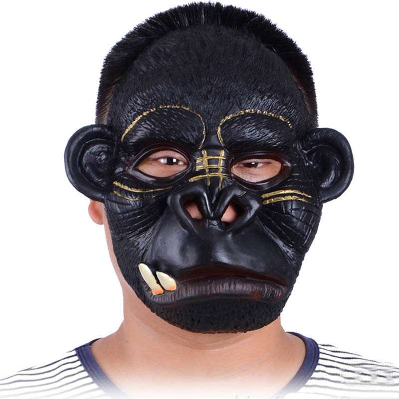 Naughty White Monkey Orangutan Gorilla Pongo Chimpanzee Ape Hominoidea Mascot Costume With Plush Long Fur Round Ears No.6534 Fs Cheap Sales Mascot Costumes & Accessories