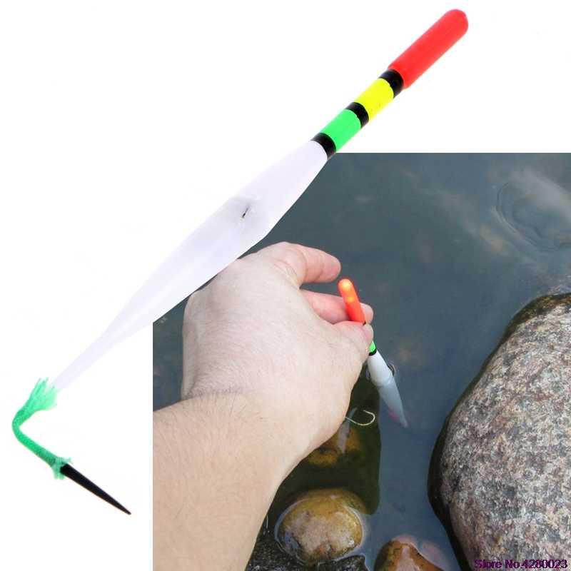 2019 Nuovo 1Pcs di Incandescenza Asta del Bastone della Gomma Piuma Pesca Galleggianti Luce Chimica di Pesca pesca Bastone Luce