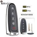 KEYECU 315 МГц ID46 PCF7953 M3N5WY8609 5 кнопочный фонарь для Ford Edge Escape DISPATCH C-max Taurus Flex Focus