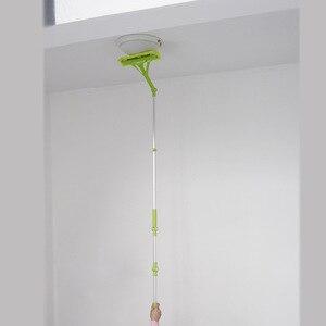 Image 4 - Nettoyage verre vadrouille Multi éponge nettoyant brosse éponge lavage télescopique haute hauteur fenêtres poussière brosse facile nettoyer les fenêtres