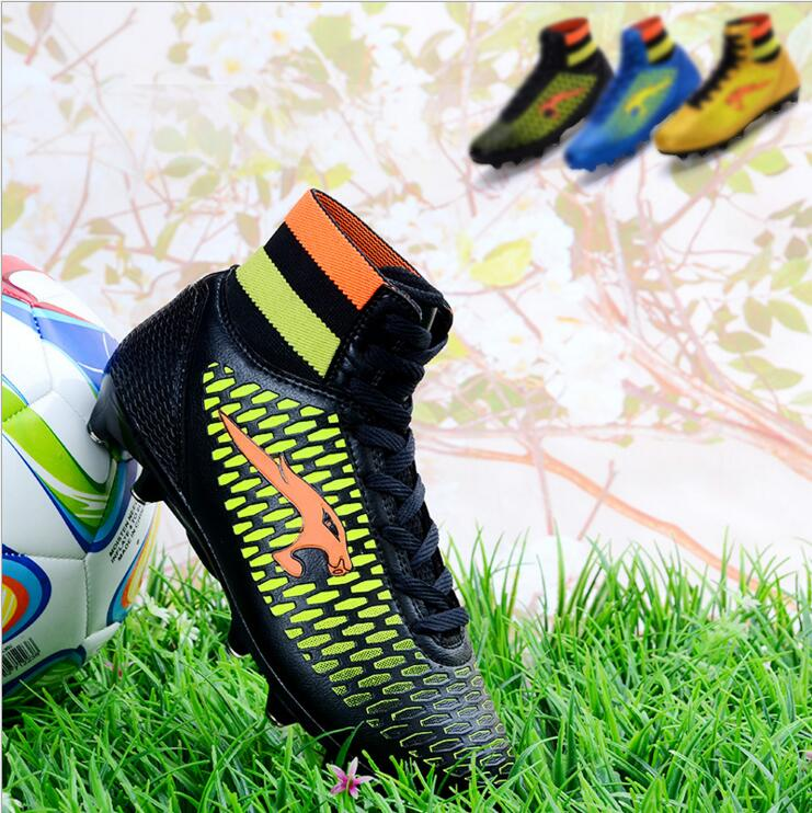 Free Shipping New Arrival Promotion Soccer shoes boys shoes Broken long nail AG for football unisex sneakers 3 colors tiebao a13135 men tf soccer shoes outdoor lawn unisex soccer boots turf training football boots lace up football shoes