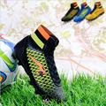 Free Shipping New Arrival Promotion Soccer shoes boys shoes Broken long nail AG  for football unisex sneakers 3 colors