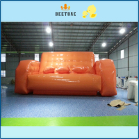 High quality Durable Giant Airtight Inflatable Water Towable White Sofa For Sale