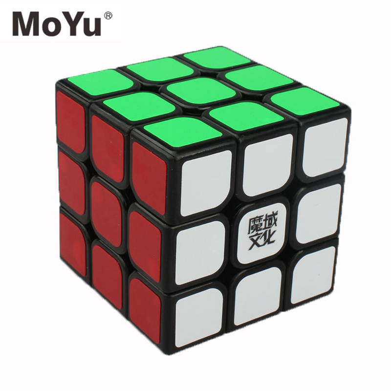 MOYU AOLONG V2 Hight Qualité Magique 57mm 3x3x3 Cube Speed Puzzle Cube Jouets