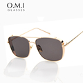 WHO CUTIE Superstar Hot Rays Sunglasses 2017 Men Women Vintage Reflective Lens Touring Cool Sun Glasses Brand oculos OM69