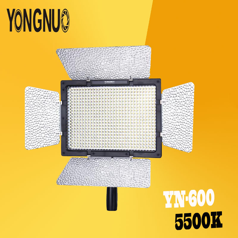 YONGNUO YN600L Wireless 2.4G Remote APP Remote LED Video Light 5500k Color Temperature for Canon Nikon Cameras DSLR photography