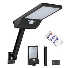 48 LED Solar Light Waterproof 3 Mode PIR Motion Sensor Wall Lamp For Outdoor Rotable Pole Garden  s Street