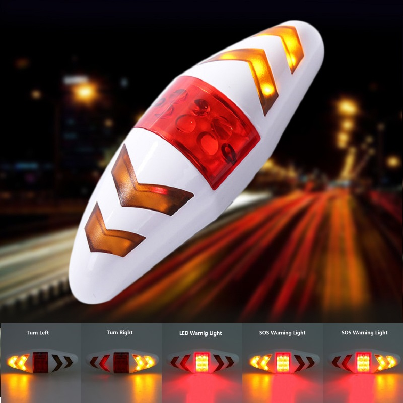 Wireless Remote Control Bicycle Rear Light Taillight Turn Signal Warning Lamp