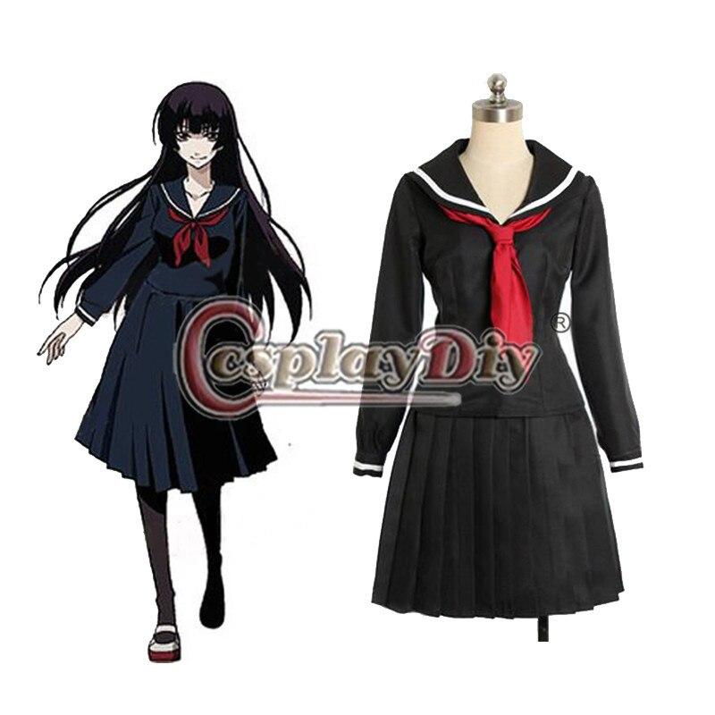 Cosplaydiy Tasogare Otome X amnésie Yuuko Kanoe Cosplay Costume adulte femmes robe Halloween vêtements sur mesure D0805