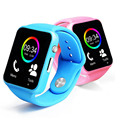 NEW Fashion Colorful Sprot Smart Watch A1 For Kids Android IOS IPHONE Smartphone Watch Sim Card Then GT08 DZ09