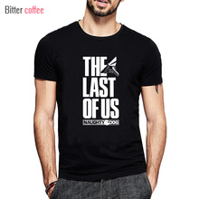 Summer The Last Of Us Men T shirt The Last Survivor Gamers Short Sleeve Tshirts Fashion Style O-neck Cotton Printed Pattern